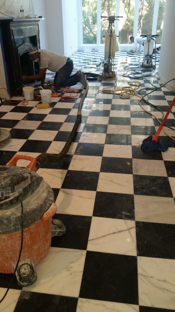 Fix Damaged Marble Right Away