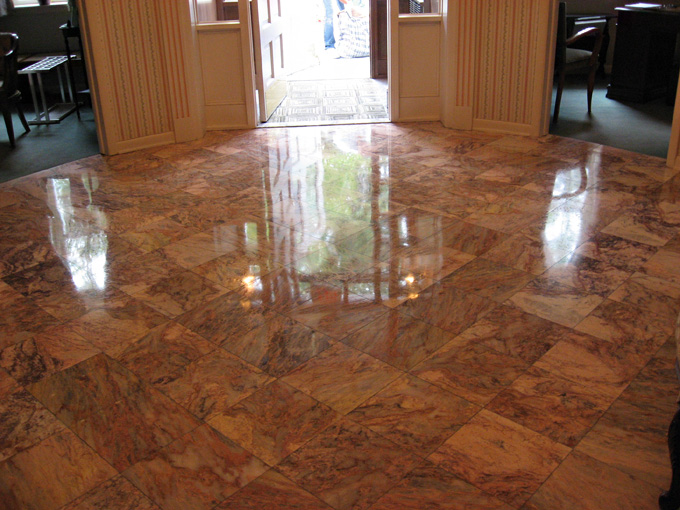 Don't Replace Worn Marble Floors, Repair Them!