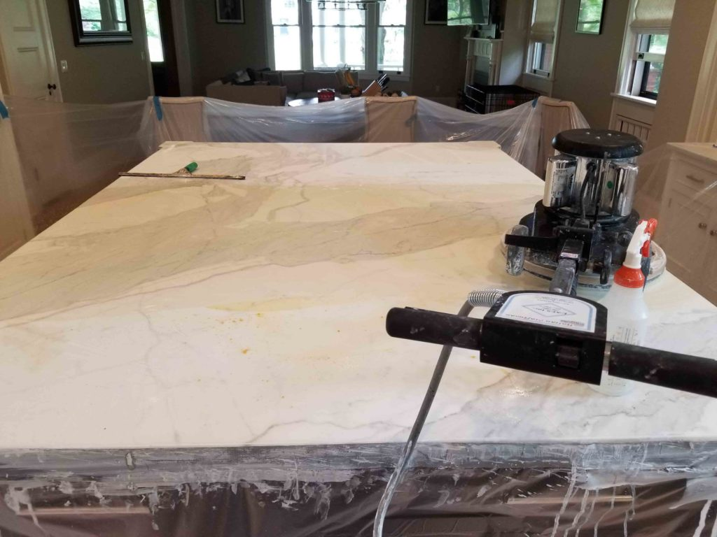 Clean and Seal Your Marble Countertops