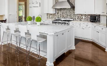 Marble Countertops Require a Little TLC